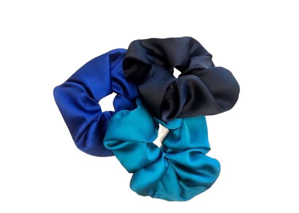 elastico blu, turchese o nero