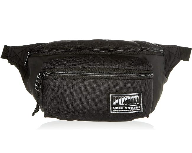 Puma Academy Waist Bag Marsupio per adulti, unisex, nero, taglia unica