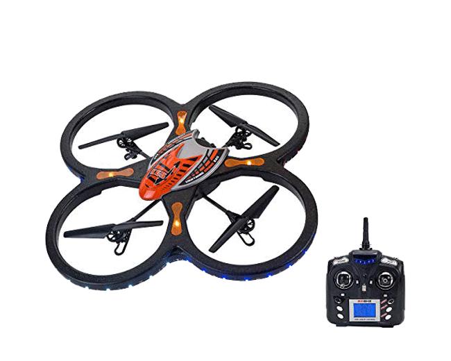 Spidko 37398 - Drone B/O R/C con Telecamera, dimensione 60 x 60 cm