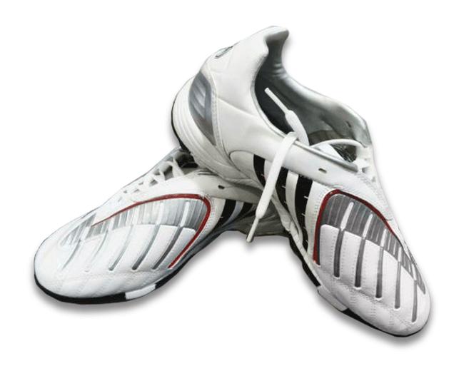 Adidas Absolado Scarpino da Calcio a 5 Bianco