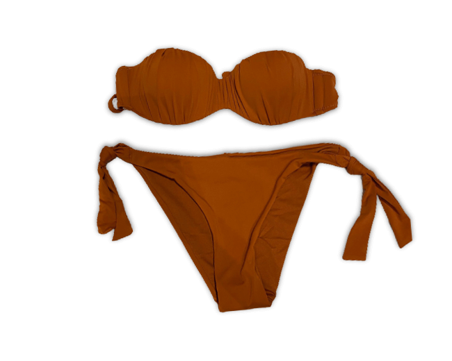 Costume da Bagno Bikini 2 Pezzi a Balconcino