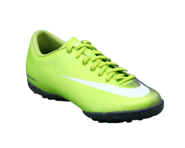 Nike Mercurial Scarpino da Calcio a 5 Verde/Nero