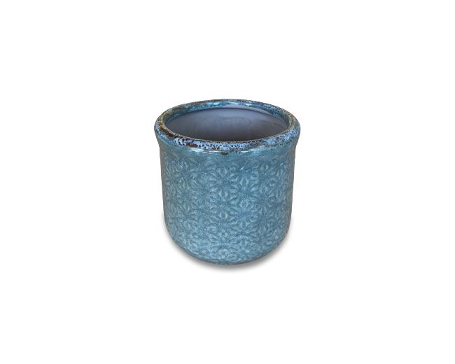 Caspo' Vaso in Ceramica Decorata