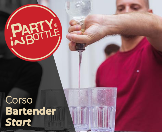CORSO BARTENDER START- LIVELLO BASE