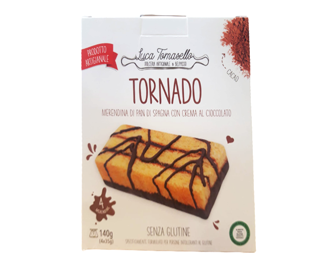 Merenda Tornado Tomasello Senza Glutine