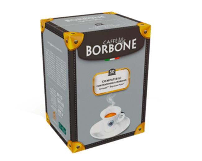 50 Capsule Caffè Borbone Compatibili Espresso Point