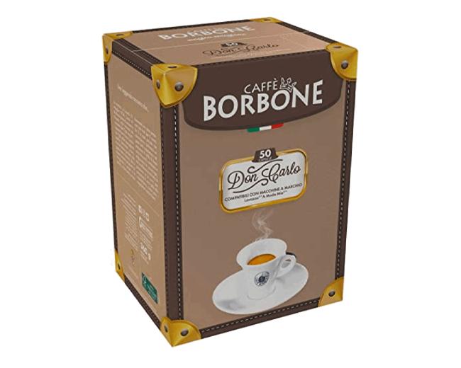 """50 Capsule Caffè Borbone Compatibili Lavazza """"A Modo Mio"""""""