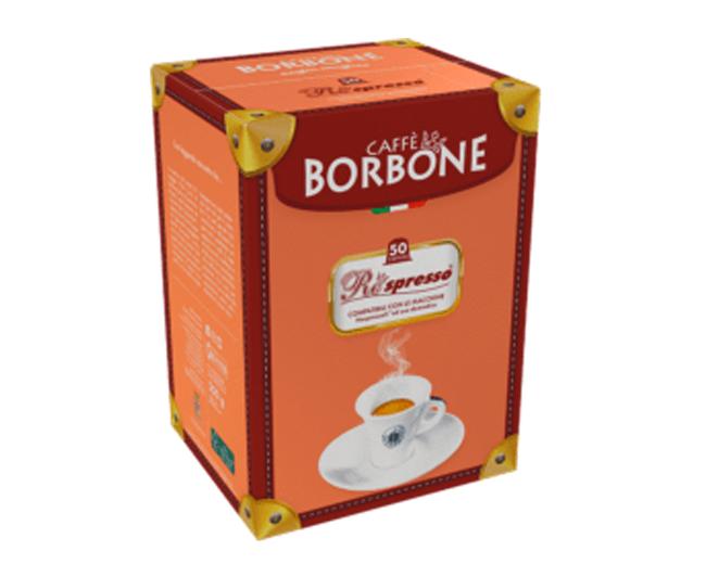50 Capsule Caffè Borbone Compatibili Nespresso