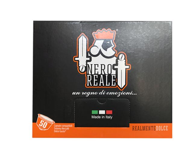 50 Cialde Caffè Nero Reale