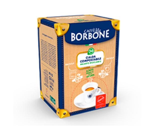 50 Cialde Compostabili Caffè Borbone