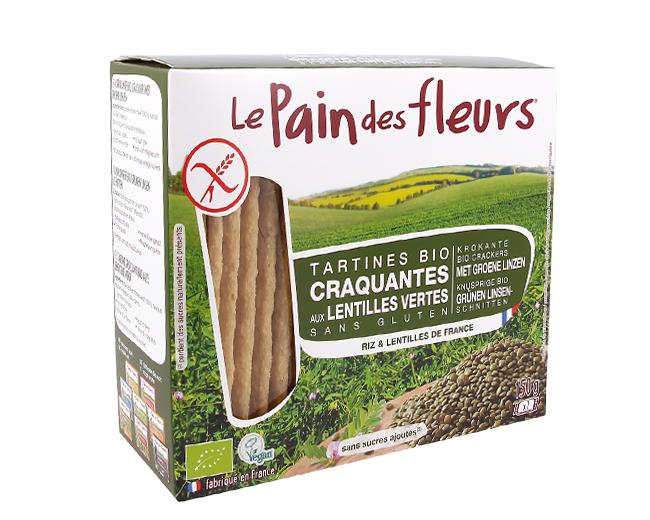 Tartine Le Pain Des Fleurs Croccanti Senza Glutine